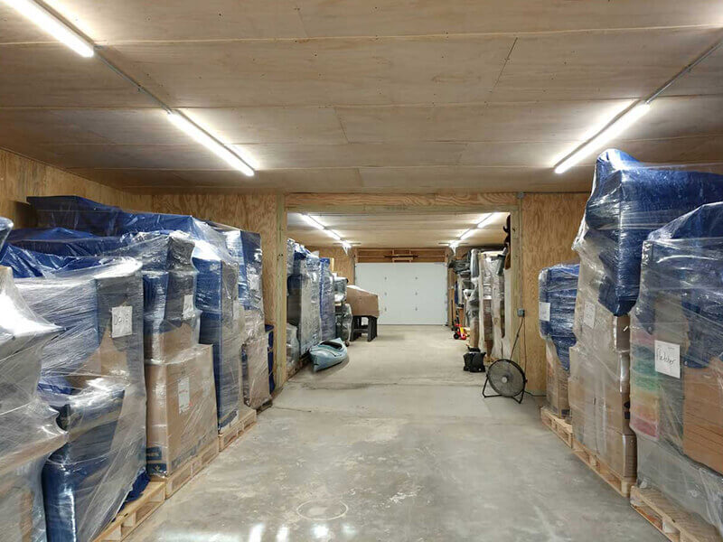 movers offering short term storage facility hampton falls new hampshire